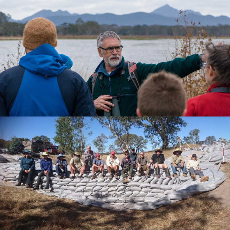 Wannon River floodplain restoration: demonstrating practical climate change mitigation action