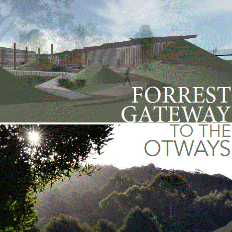 Forrest Gateway to the Otways: Collaborative Research and Interactive Learning Facility and Bushfire Place of Last Resort